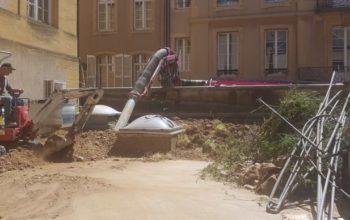 Aspiration terrasse à Metz (suite)
