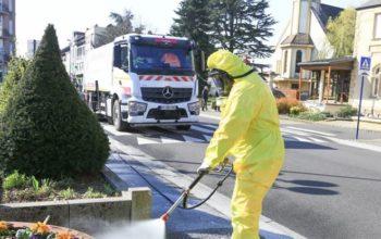 Coronavirus : Amnéville, première commune de Lorraine à désinfecter ses rues